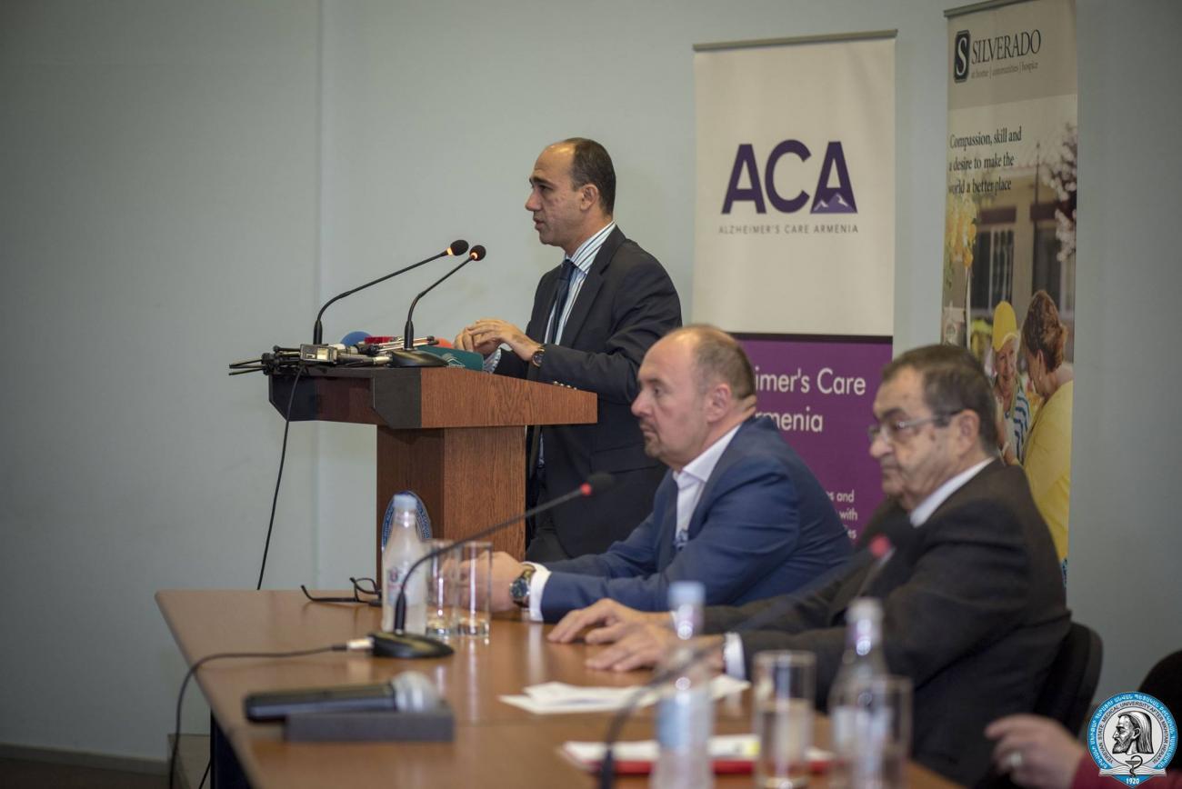 Այսօր աշխարհում ալցհեյմերի հիվանդություն ունեցող ավելի քան 50 միլիոն մարդ կա. ԵՊԲՀ-ում միջազգային համաժողով անցկացվեց