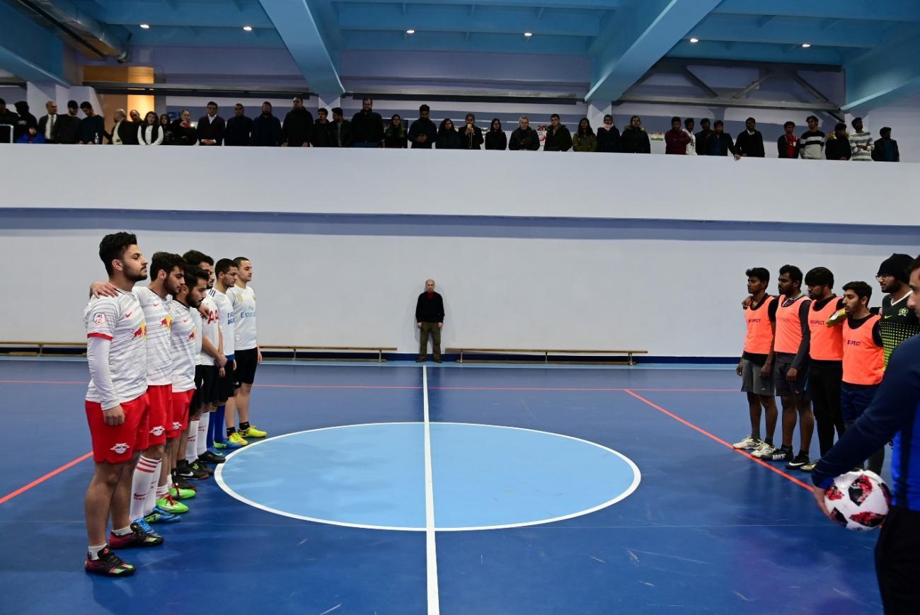 Ֆուտբոլային ընկերական հանդիպում՝ օտարերկրացի ուսանողների միջև