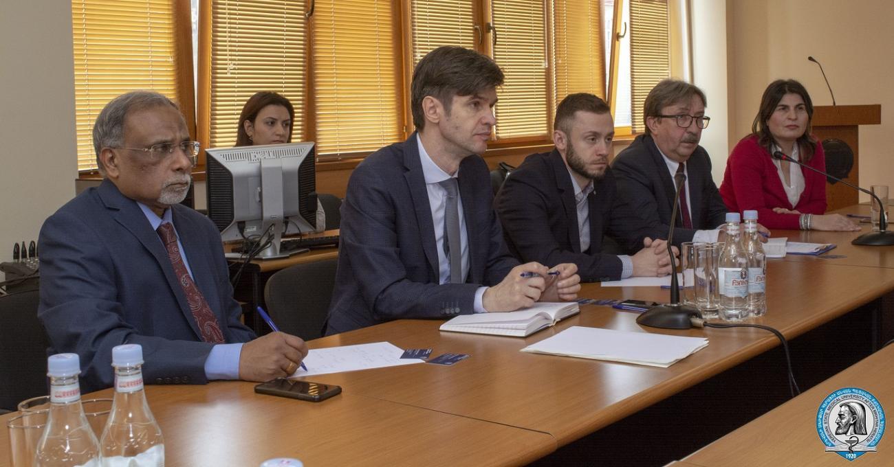 ՄԱԳԱՏԷ-ի ու ԱՀԿ-ի փորձագետներն այցելեցին ԵՊԲՀ